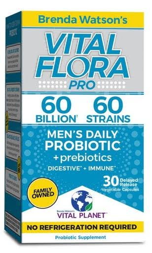 Vital Flora 60 Billion 60 Strain,Men's Vital Flora 30 vcaps