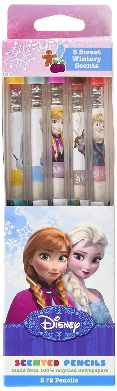 Disney Frozen Smencils 5-Pack of Scented Graphite by Scentco