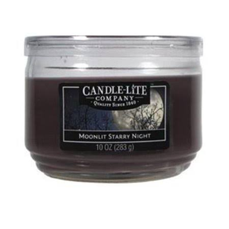 Candle Lite 1879066 3 Wick Everyday Jar Candle - Moonlit Starry Night, 10oz