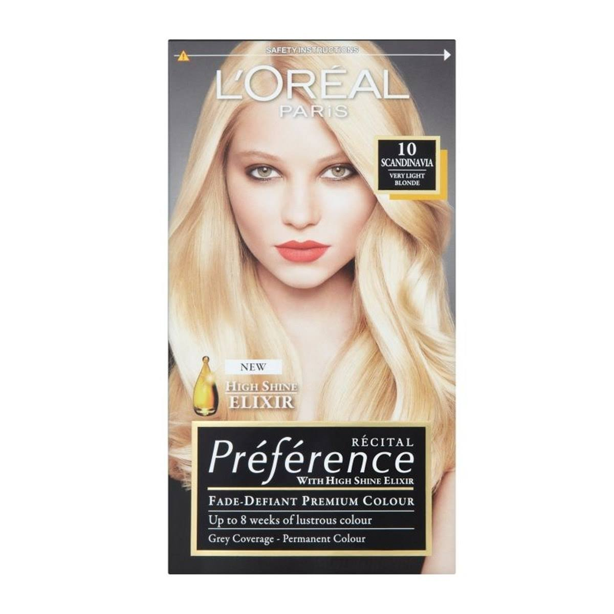 L'oreal Preference Light Blonde Permanent Hair Dye - 8 California