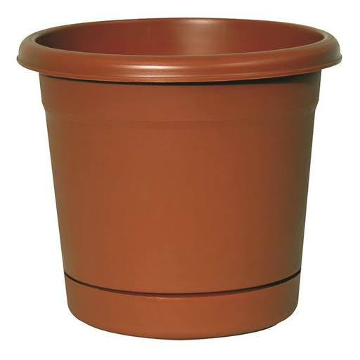 "Southern Patio Dynamic Design RR2006TC Rolled Rim Planter - 20"" Dia x20 3/4""x20 3/4"""