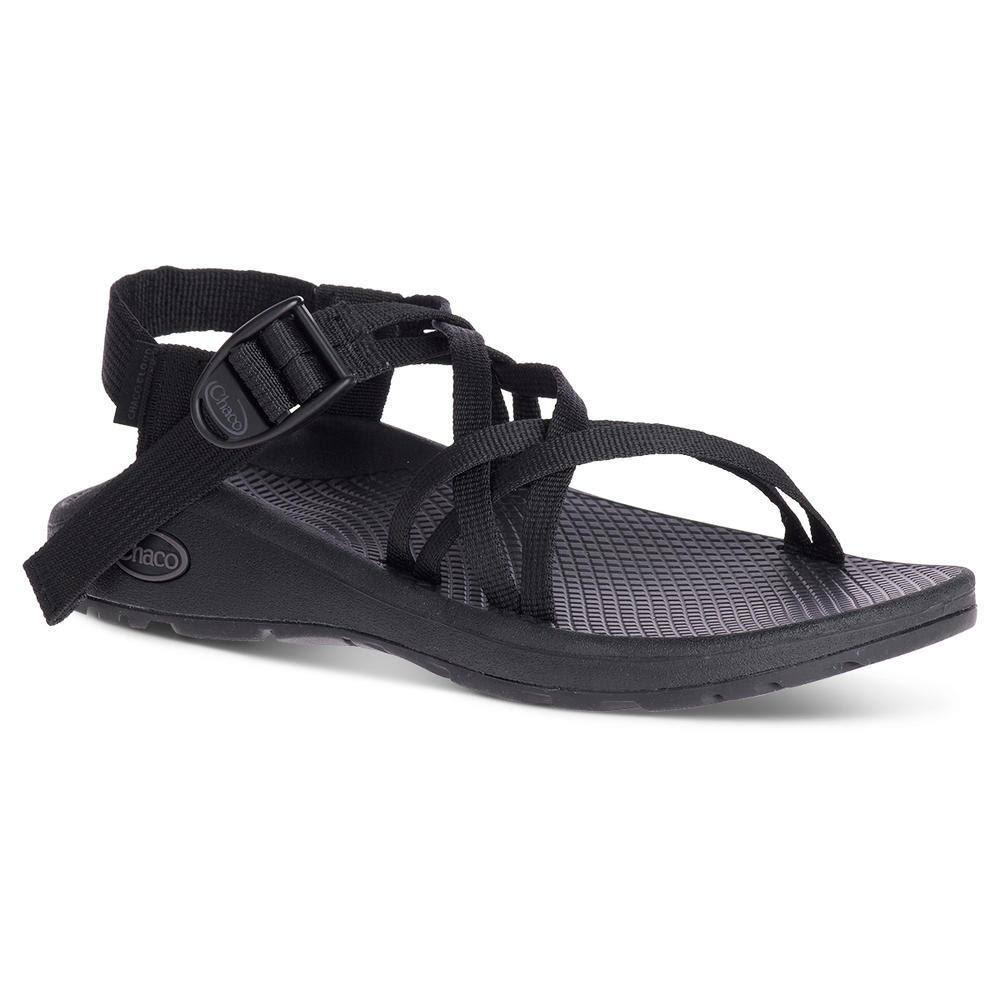 Chaco Women's Z/Cloud x Sandal - 6 - Solid Black