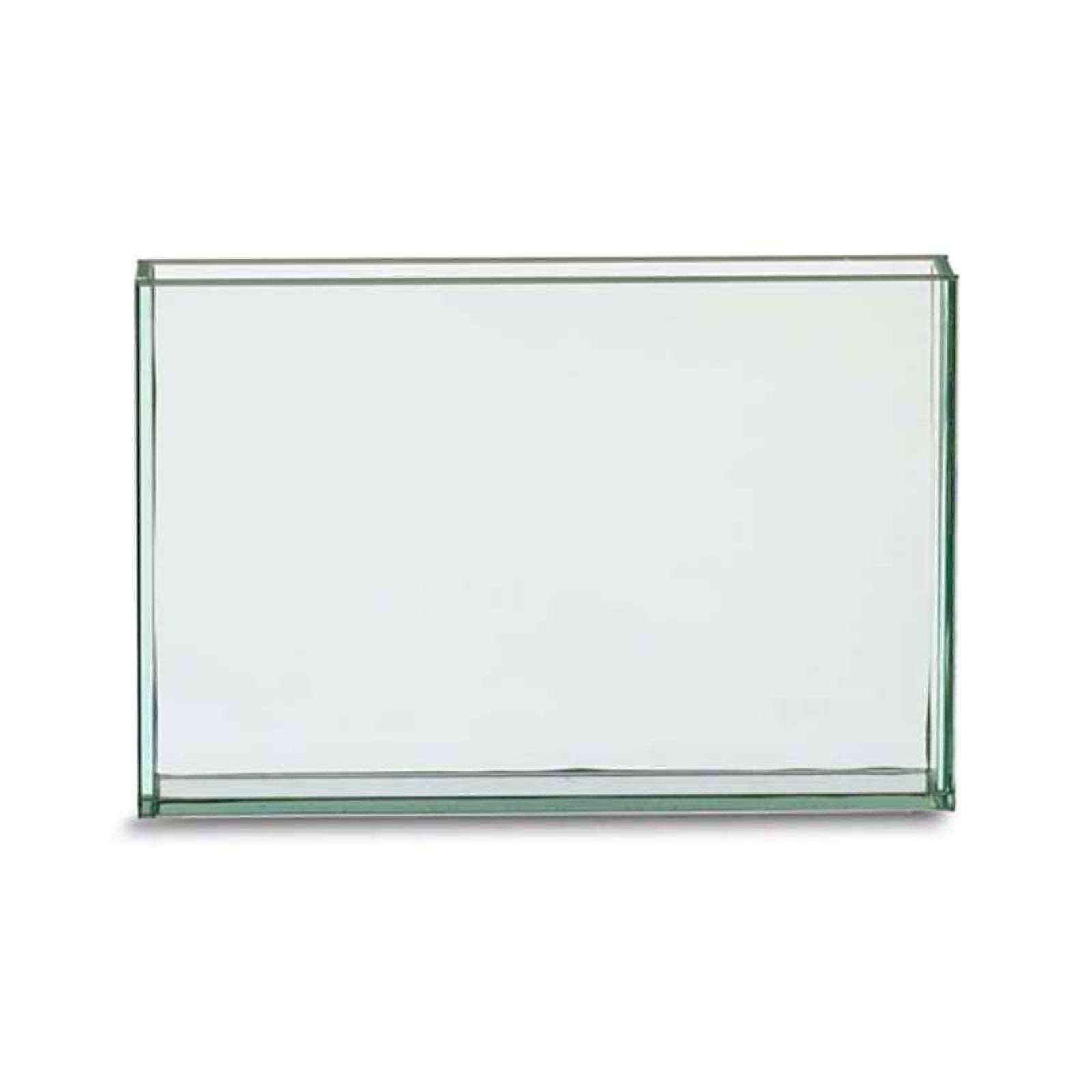 Design Ideas Vision Rectangle Vase, Small, Clear