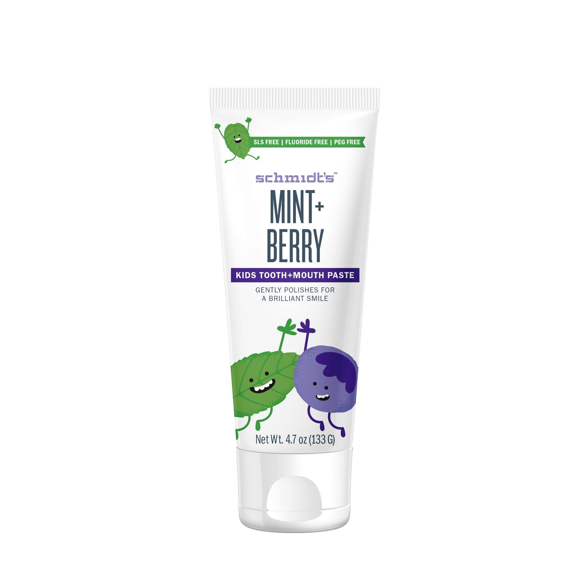 Schmidt's Toothpaste Mint Berry Kids - 4.7 oz