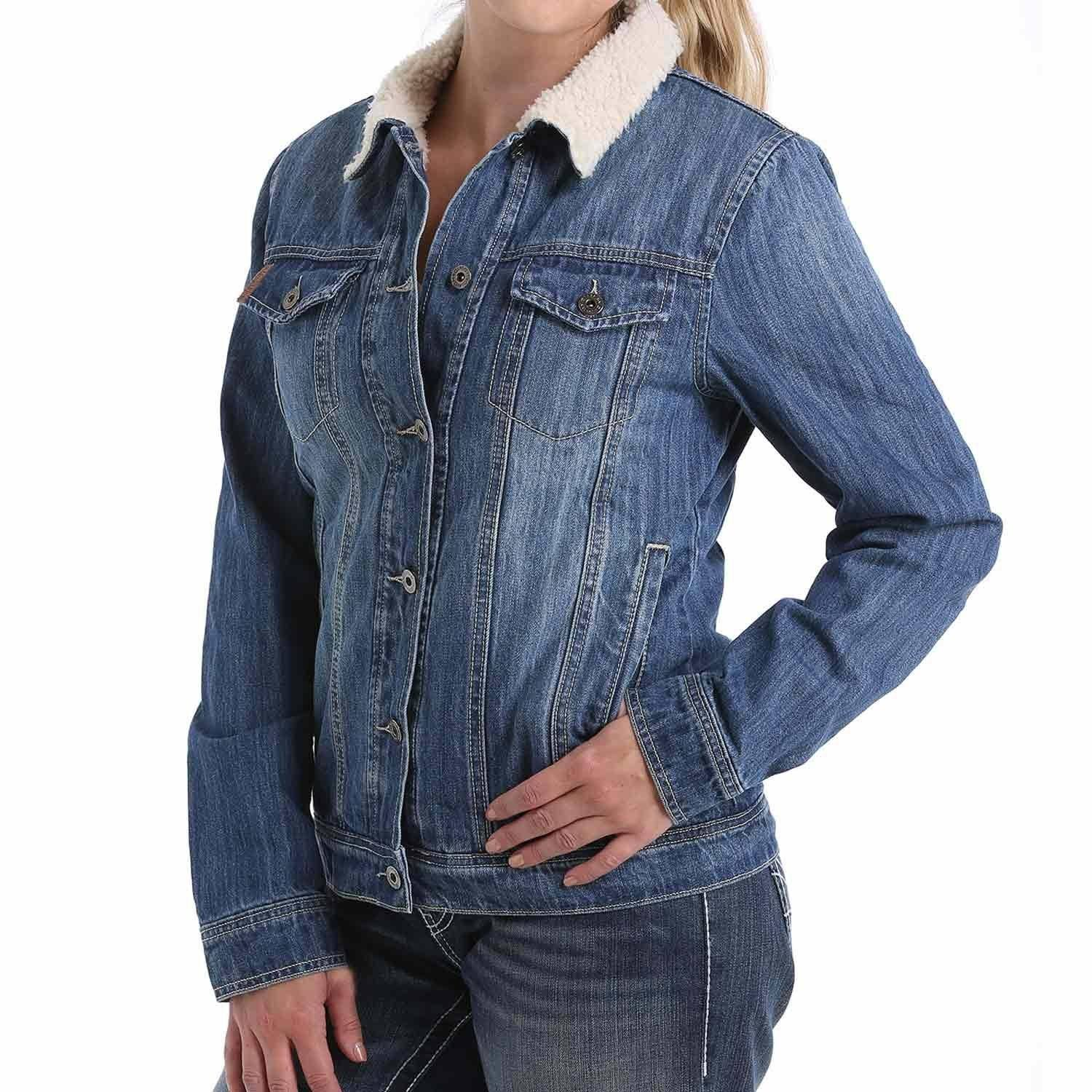 Cinch Women's Denim Trucker Jacket