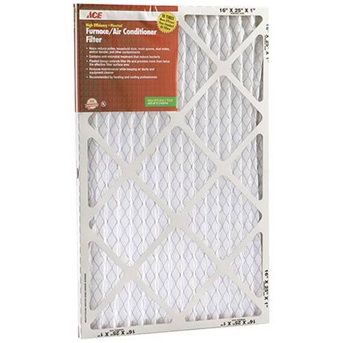 "Ace Pleated Furnace Air Filter - 12"" x 20"" x 1"""