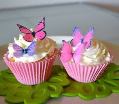 Cake Decorating Books Free by Amazon Com Edible Butterflies Small Assorted Pink And Purple