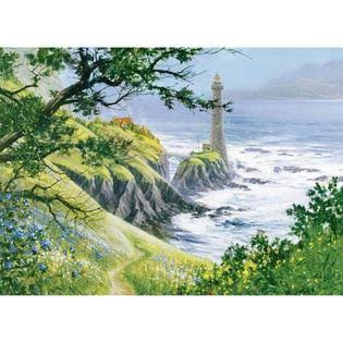 Cobble Hill Summer Lighthouse Jigsaw Puzzle