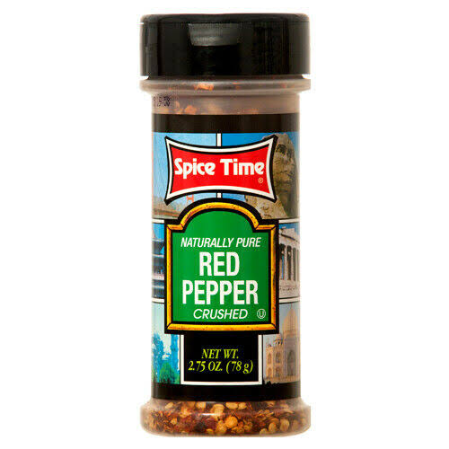Spice Time Crushed Red Pepper