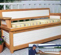 Build Outdoor Storage Bench by Best 25 Patio Storage Bench Ideas On Pinterest Garden Storage