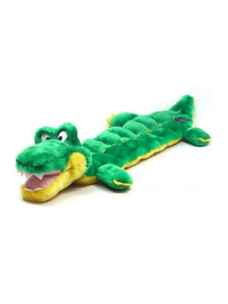 Kyjen Outward Hound Gator Squeaker Dog Toy
