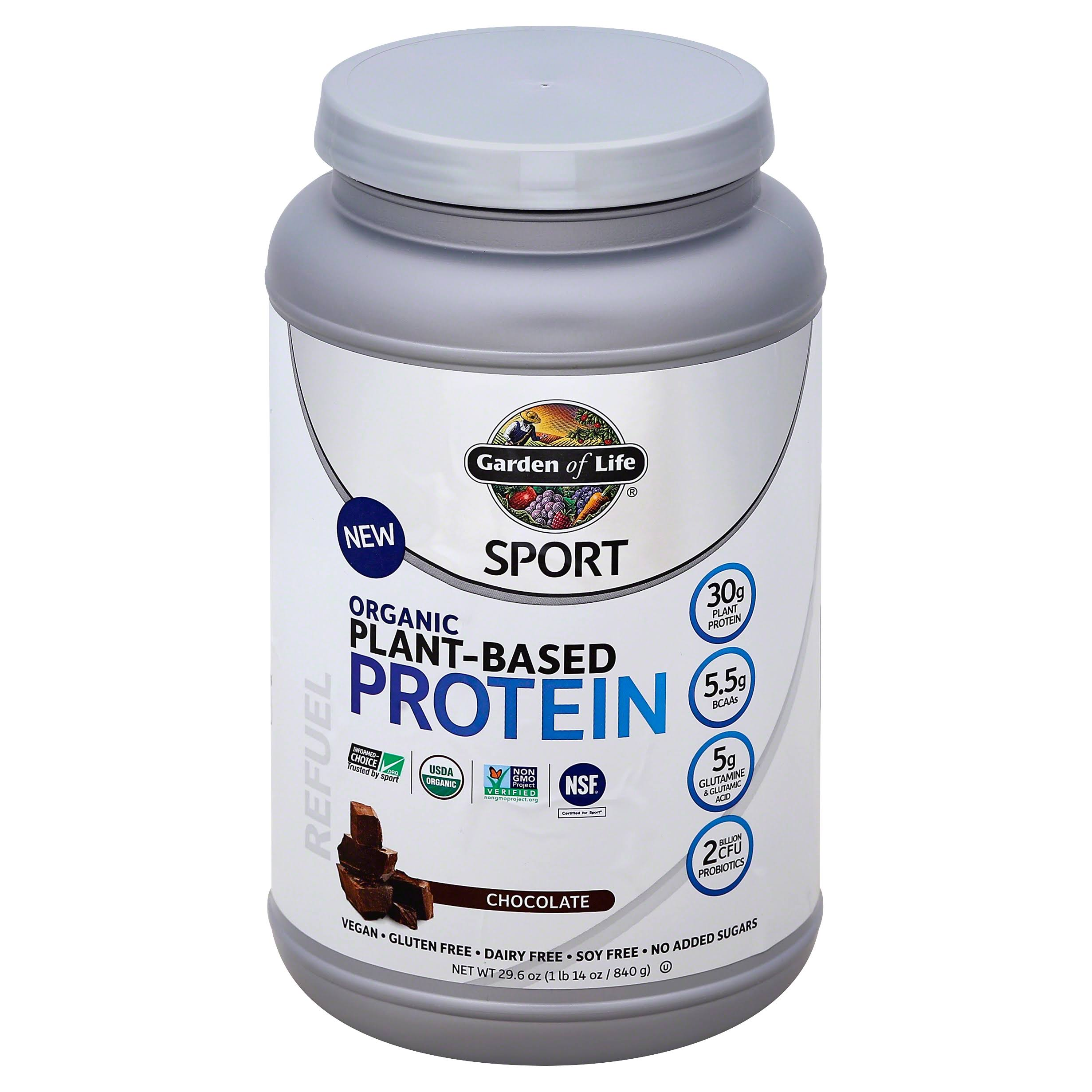 Garden of Life Sport Organic Plant-Based Protein Supplement - Chocolate, 38 Servings