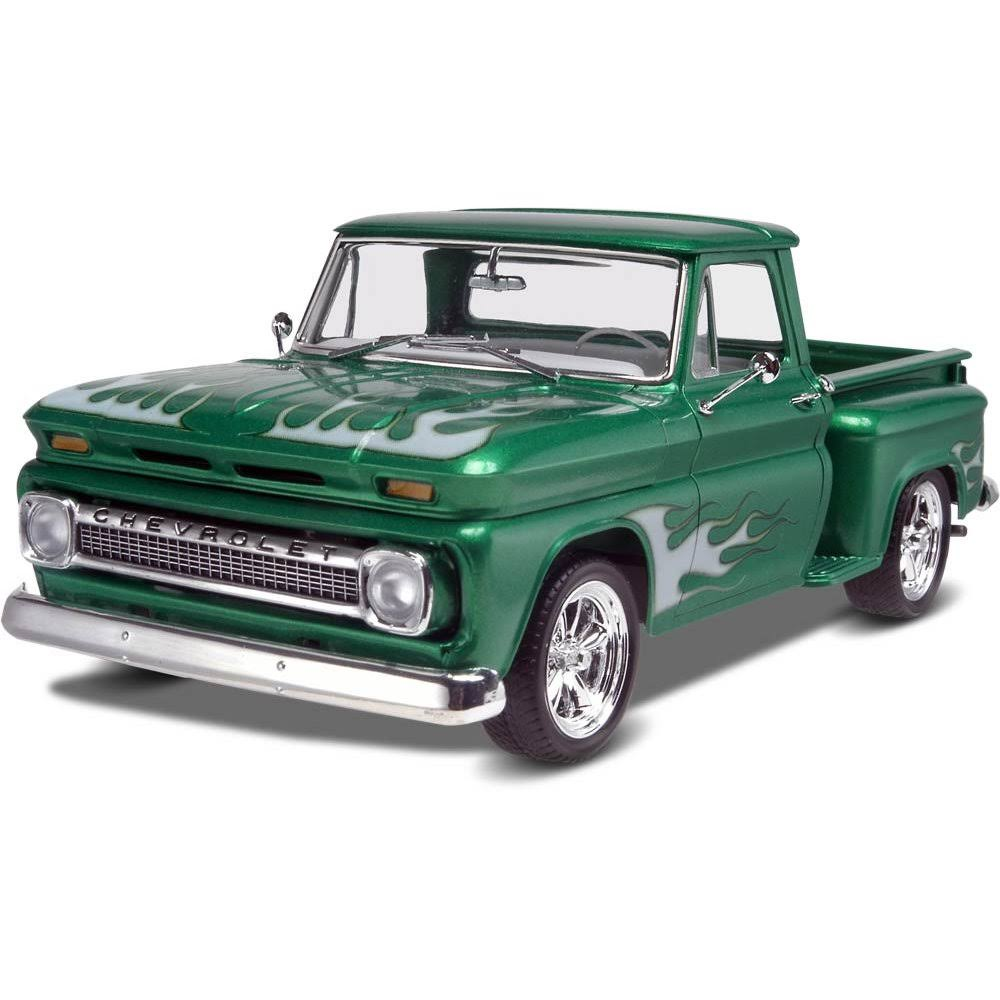Revell 65 Chevy Stepside Pickup 2 in 1 Model Kit - 1/25 scale