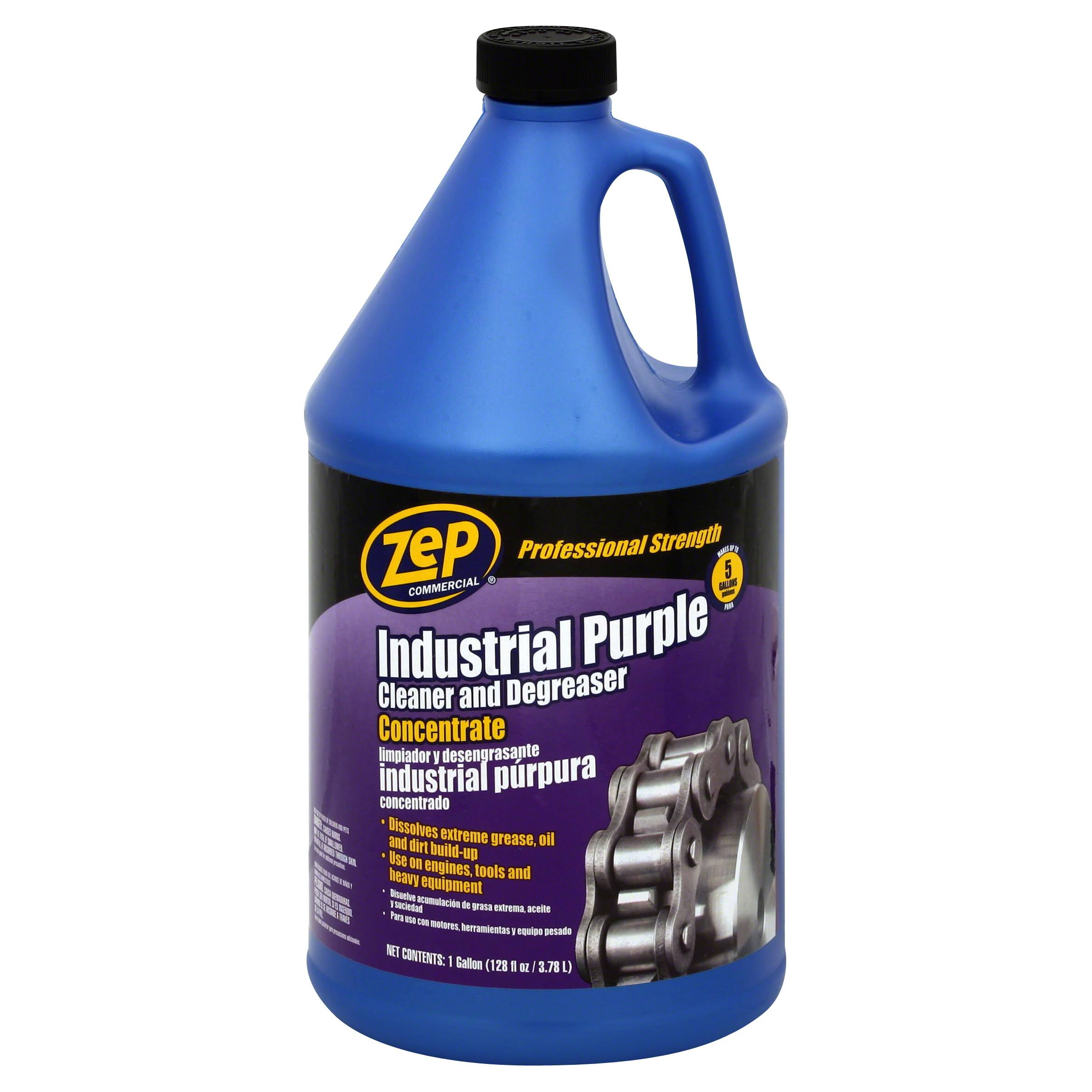 ZEP Industrial Purple Cleaner and Degreaser Concentrate