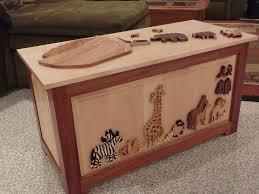 raised panel noah u0027s ark toy chest toyboxes pinterest toy box