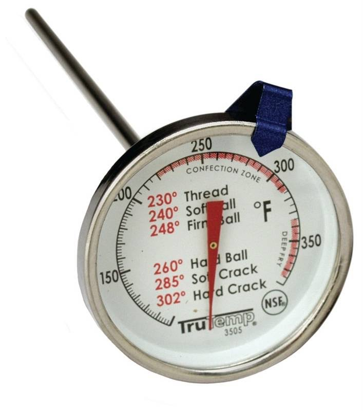 Taylor Classic Easy To Read Candy Confections Deep Fryer Jelly Thermometer