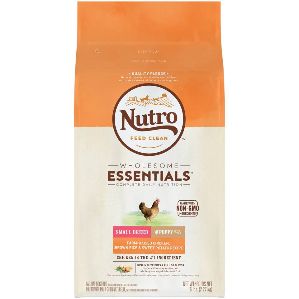 Nutro Small Breed Puppy Food - Chicken, Brown Rice & Sweet Potato
