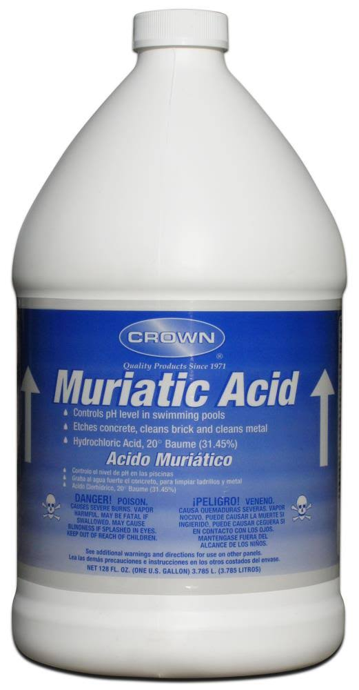 Crown Muriatic Acid - 1gal