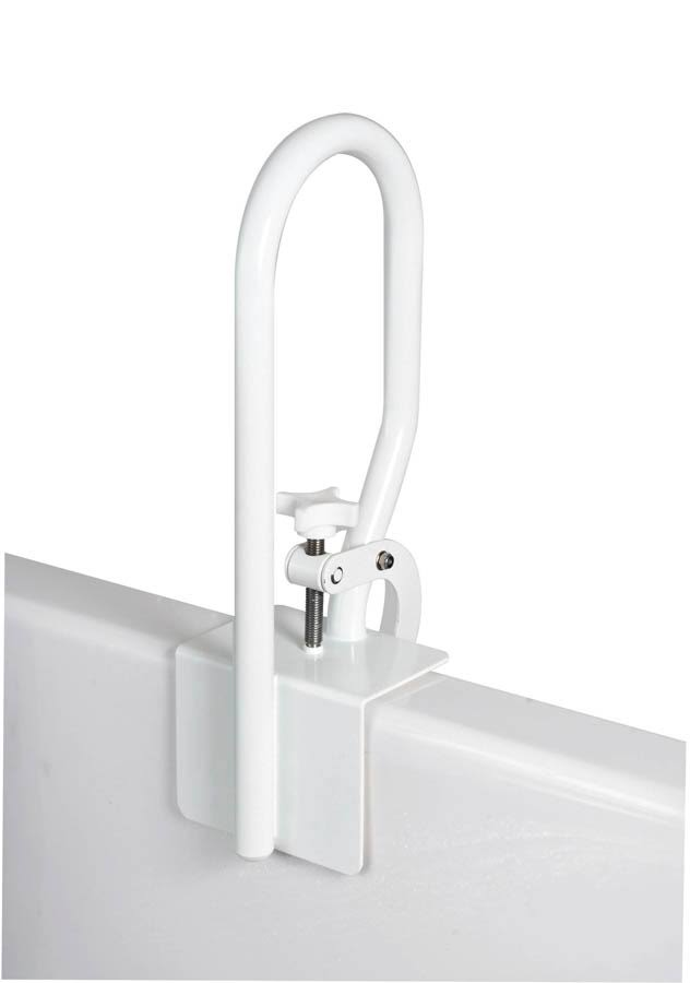 Carex Health Brands Bathtub Rail - White