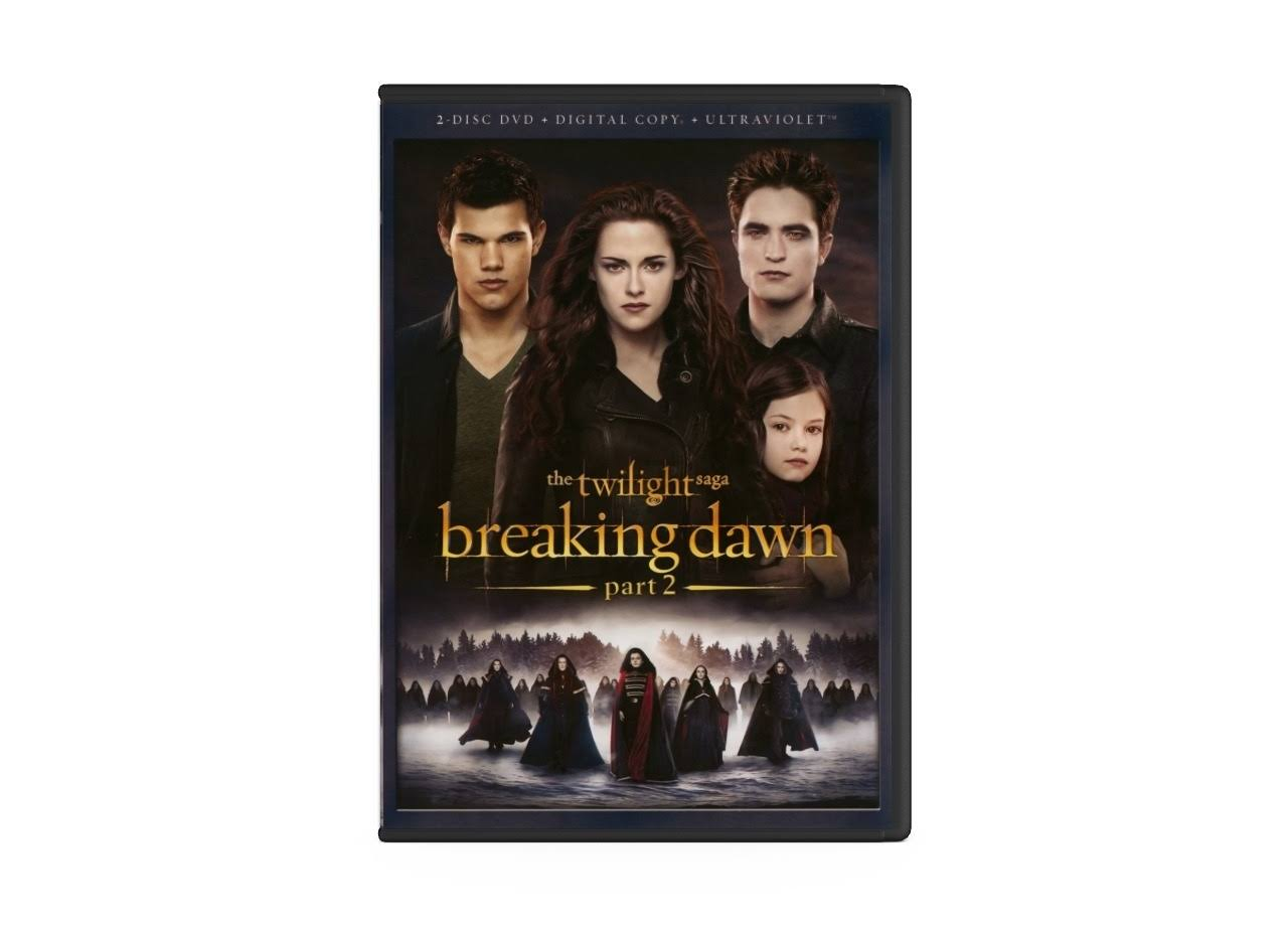 The Twilight Saga: Breaking Dawn Part 2 DVD