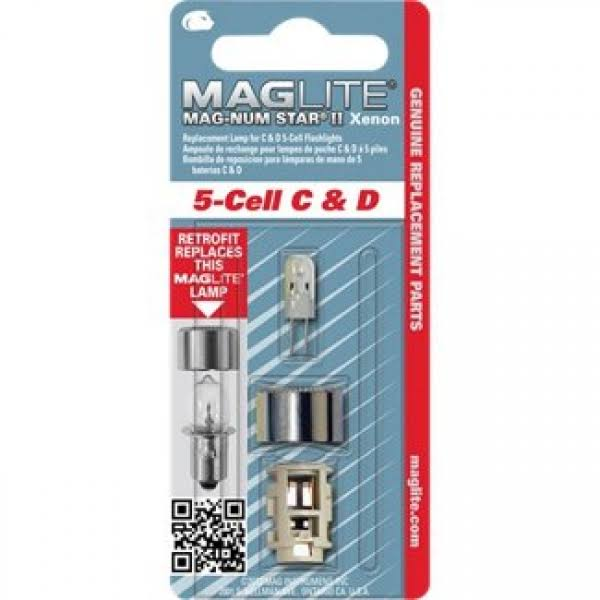 Maglite Mag-Num Star II Xenon Replacement Lamp - 5-Cell C And D