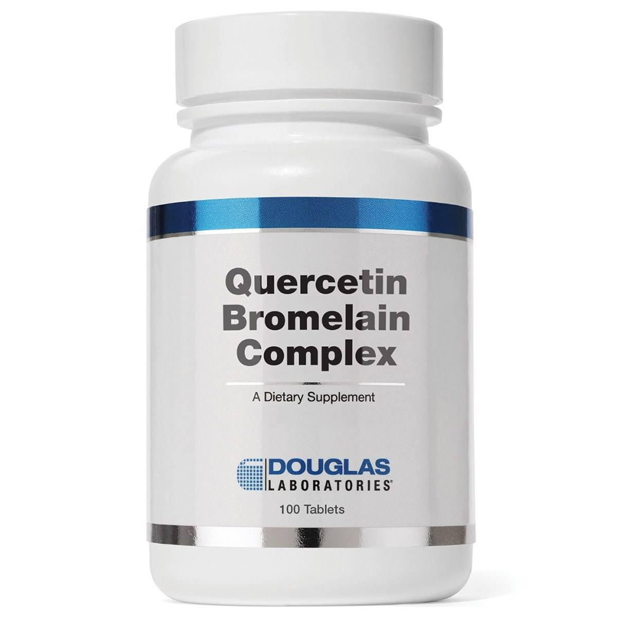 Douglas Laboratories Quercetin Bromelain Complex Supplements - 100ct