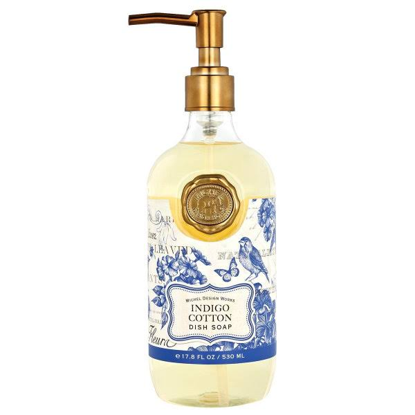 Michel Design Works Indigo Cotton Dish Soap - 17.8oz