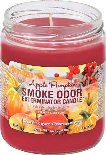 Smoke Odor Exterminator Jar Candle - Apple Pumpkin, 13oz