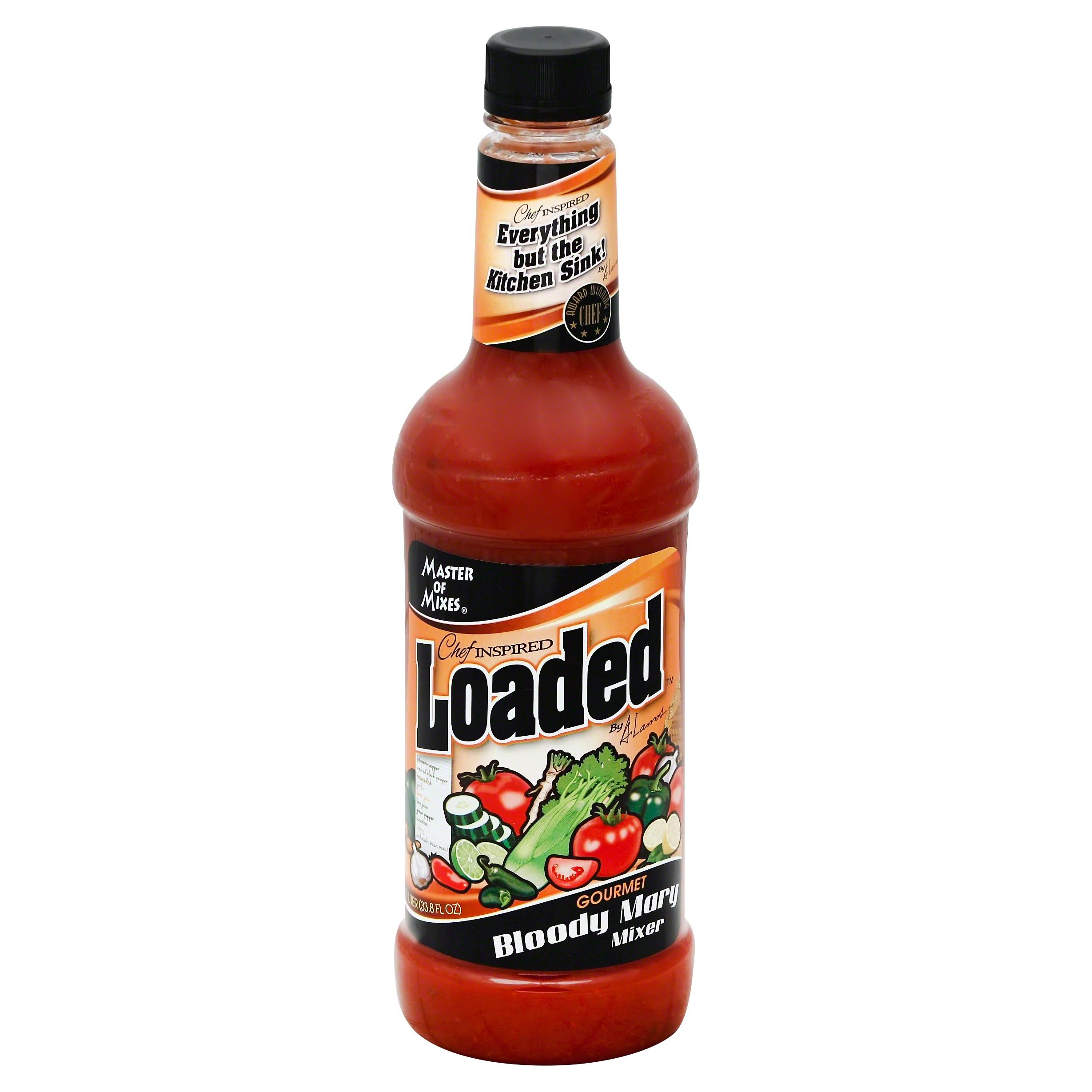 Master Of Mixes Loaded Mixer, Gourmet, Bloody Mary - 33.8 fl oz