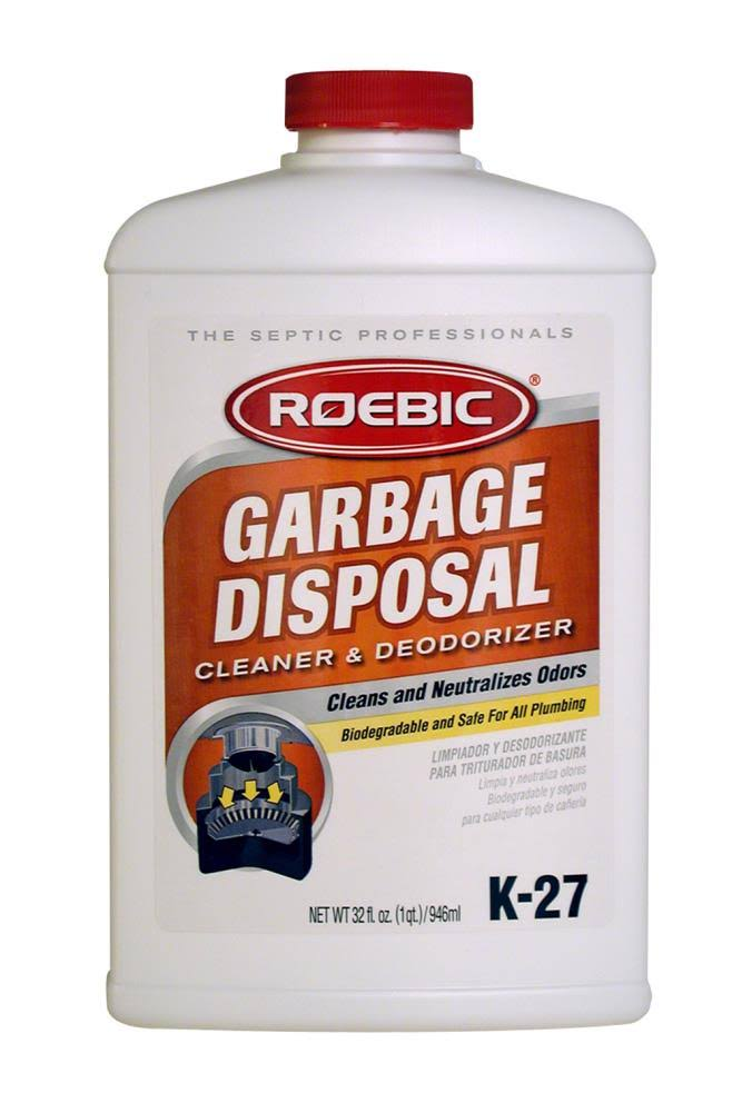 Roebic Garbage Disposal Cleaner & Deodorizer - 946ml