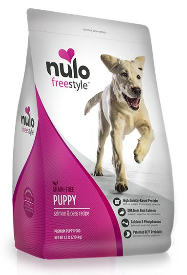 Nulo Pup Grain Dry Food - Salmon and Peas, 11lbs