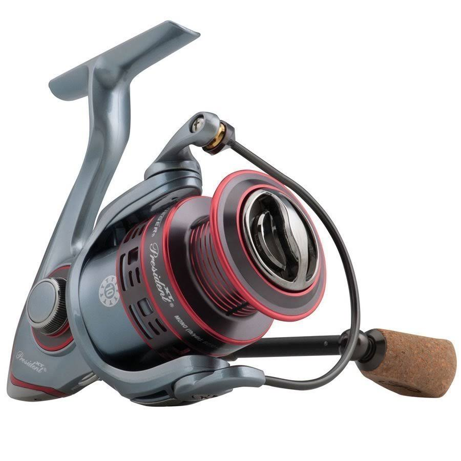 Pflueger President XT Sz25 Spinning Reel - 5.2:1 Gear Ratio, 22.4""