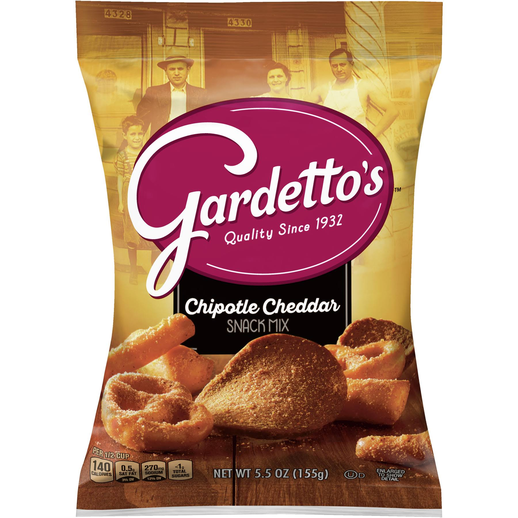 Gardetto's Chipotle Cheddar Snack Mix - 5.5oz