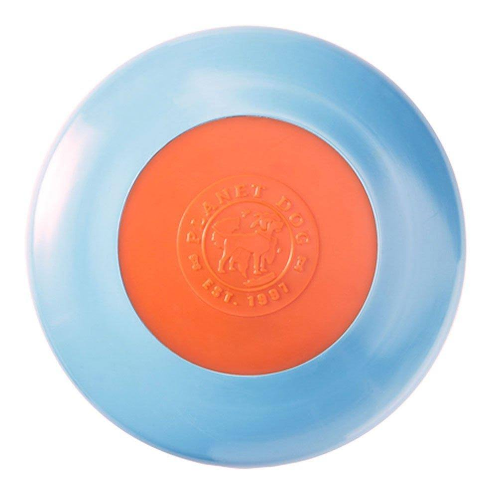 Planet Dog Orbee-Tuff Zoom Flyer - Blue, Orange
