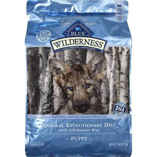 Blue Buffalo Wilderness High Protein Dry Puppy Food - Chicken Formula