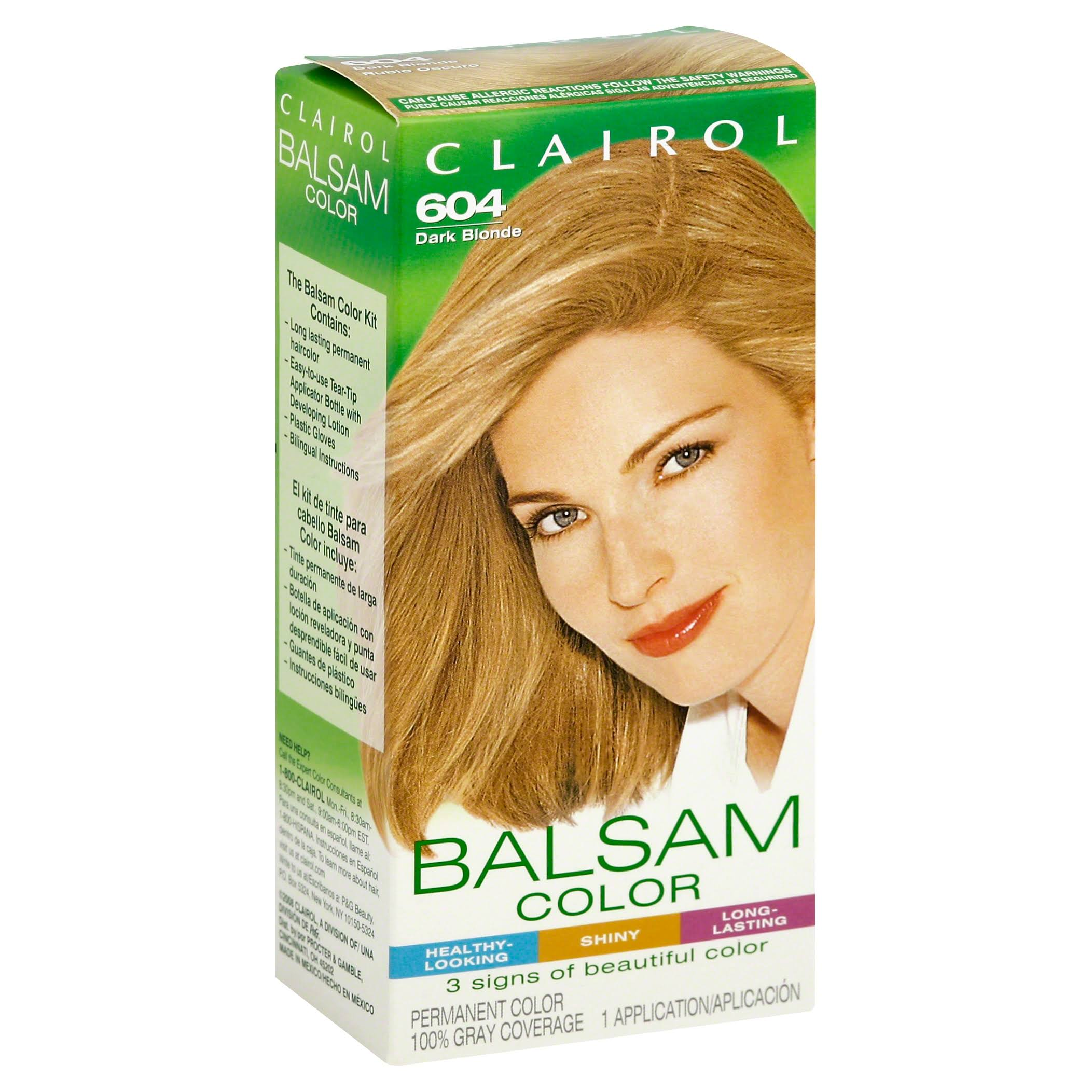 Clairol Balsam Hair Color - 604 Dark Blonde