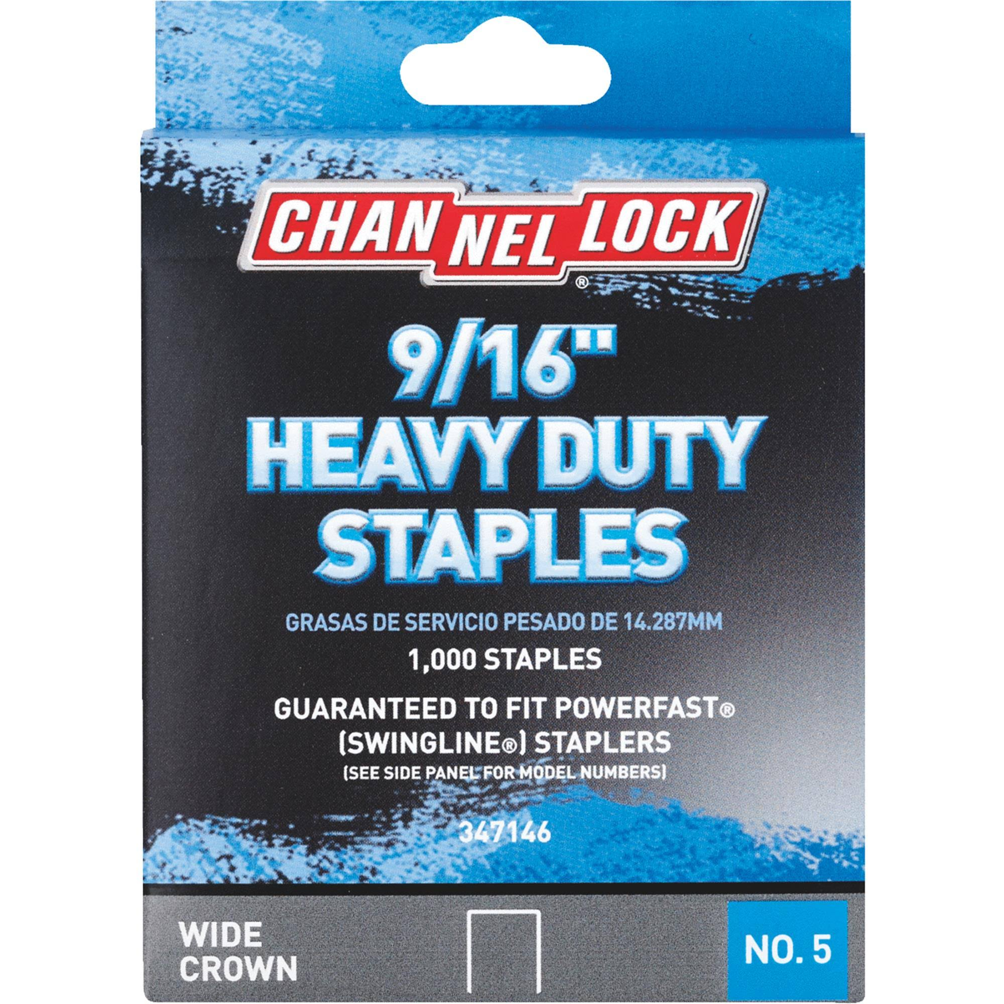 Do It Best Heavy Duty Staples - 1000 Staples, 9/16""