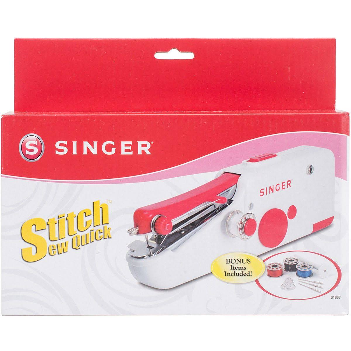 Singer 1663 Stitch Sew Quick Portable Sewing Machine