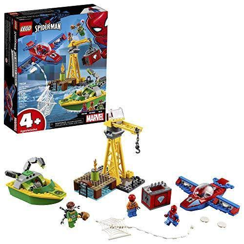 Lego Marvel Spider Man Building Set - Doc Ock Diamond Heist, 150pcs