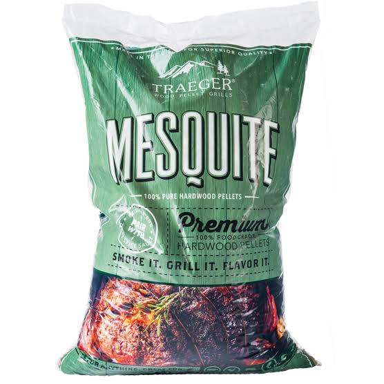 Traeger Mesquite All Natural Wood Pellets - 20lb