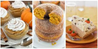 Ideas For Halloween Food Names by 50 Easy Pumpkin Desserts Best Sweet Pumpkin Recipes For
