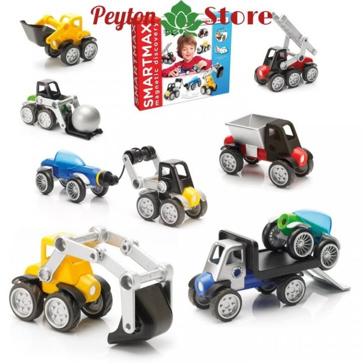 SmartMax 25-Piece Power Vehicles Max Set