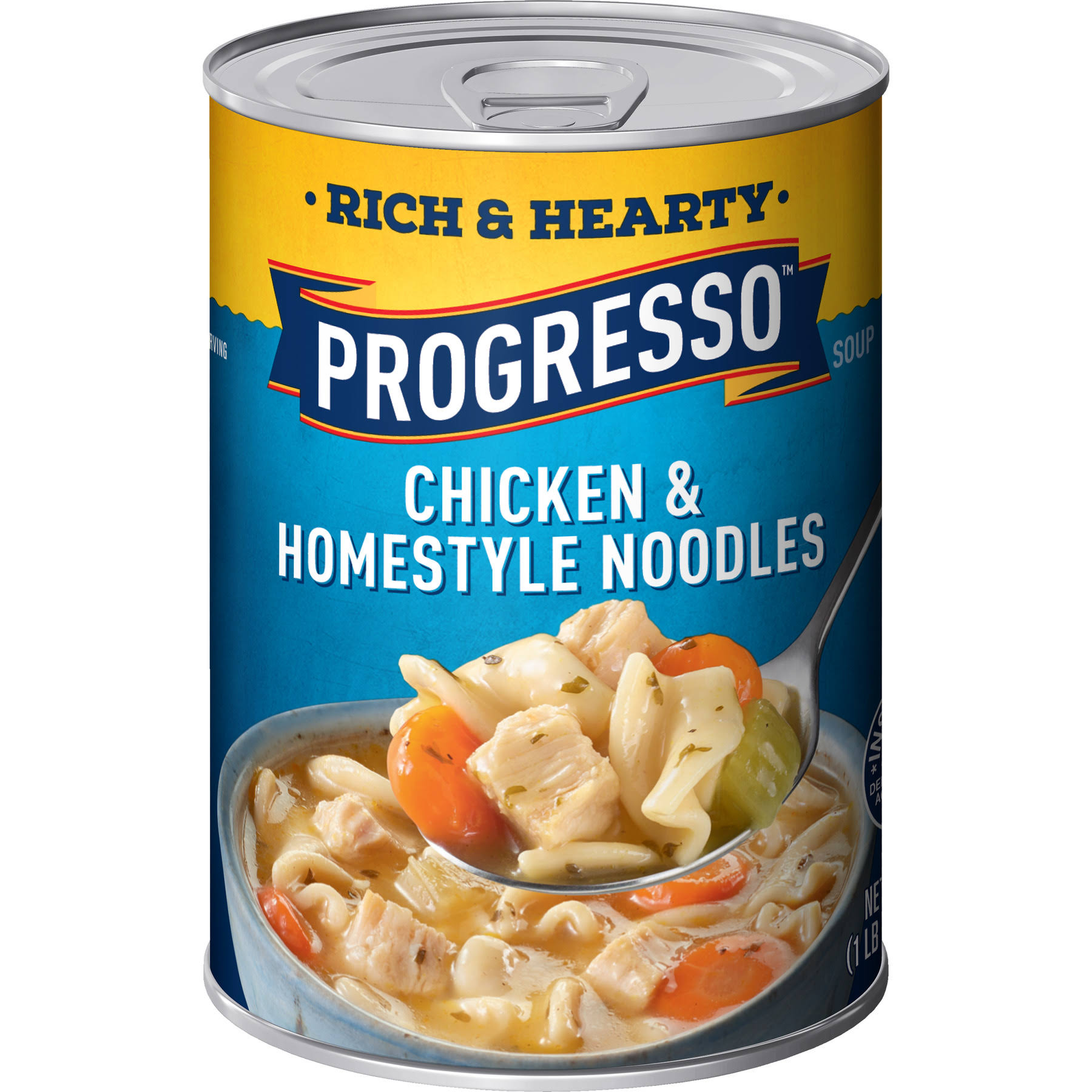 Progresso Chicken and Homestyle Noodles Soup - 19oz