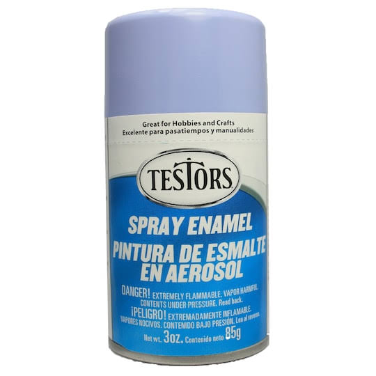 Testors Gloss Purple Enamel Spray Paint - 3 Oz