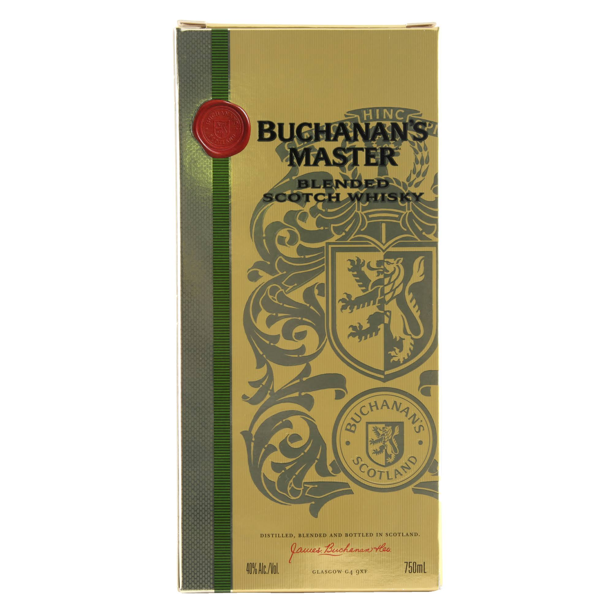Buchanans Buchanan's Master Whisky Blended Scotch