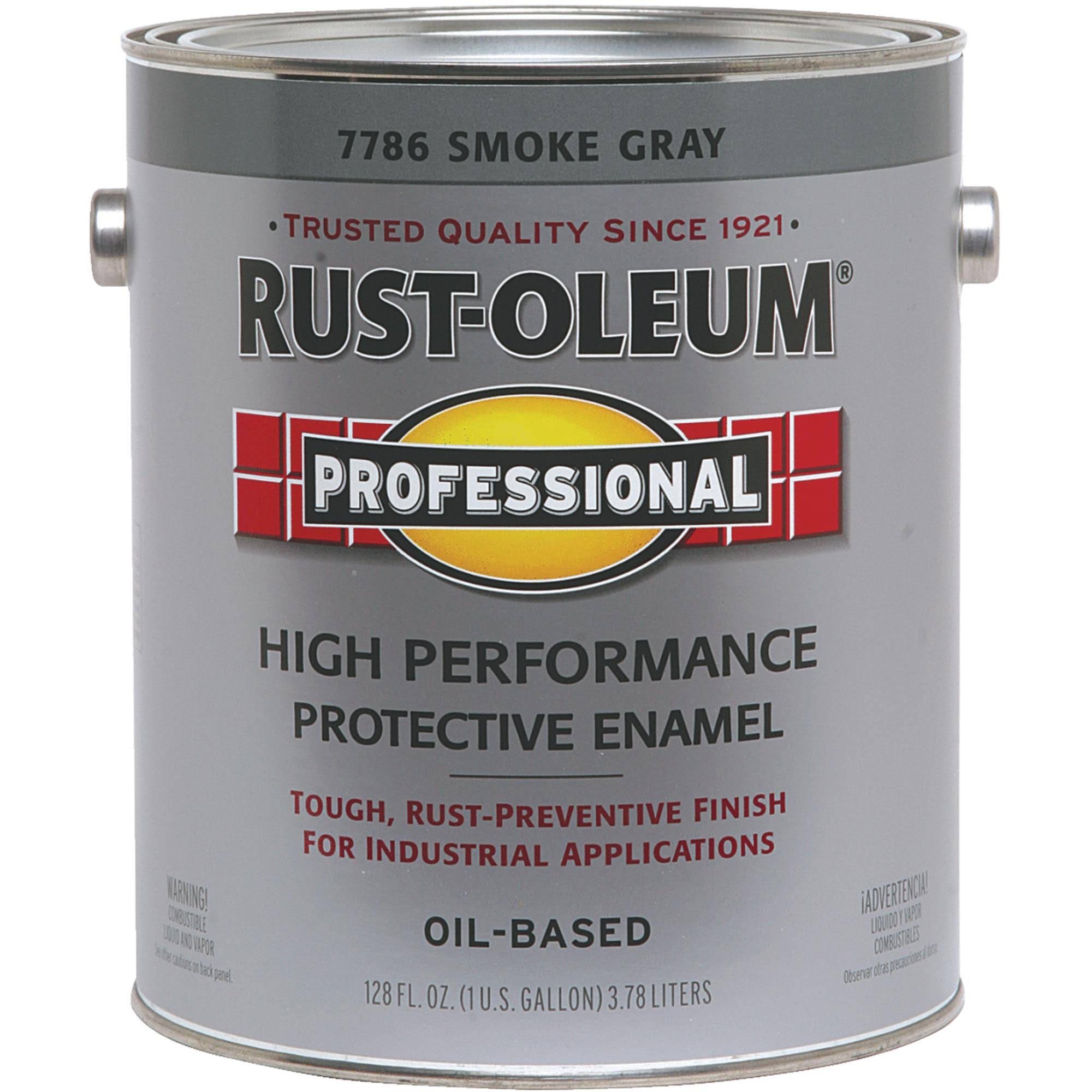 Rust-Oleum Protective Rust Control Enamel Paint - 7786-402 Smoke Gray, 2gal