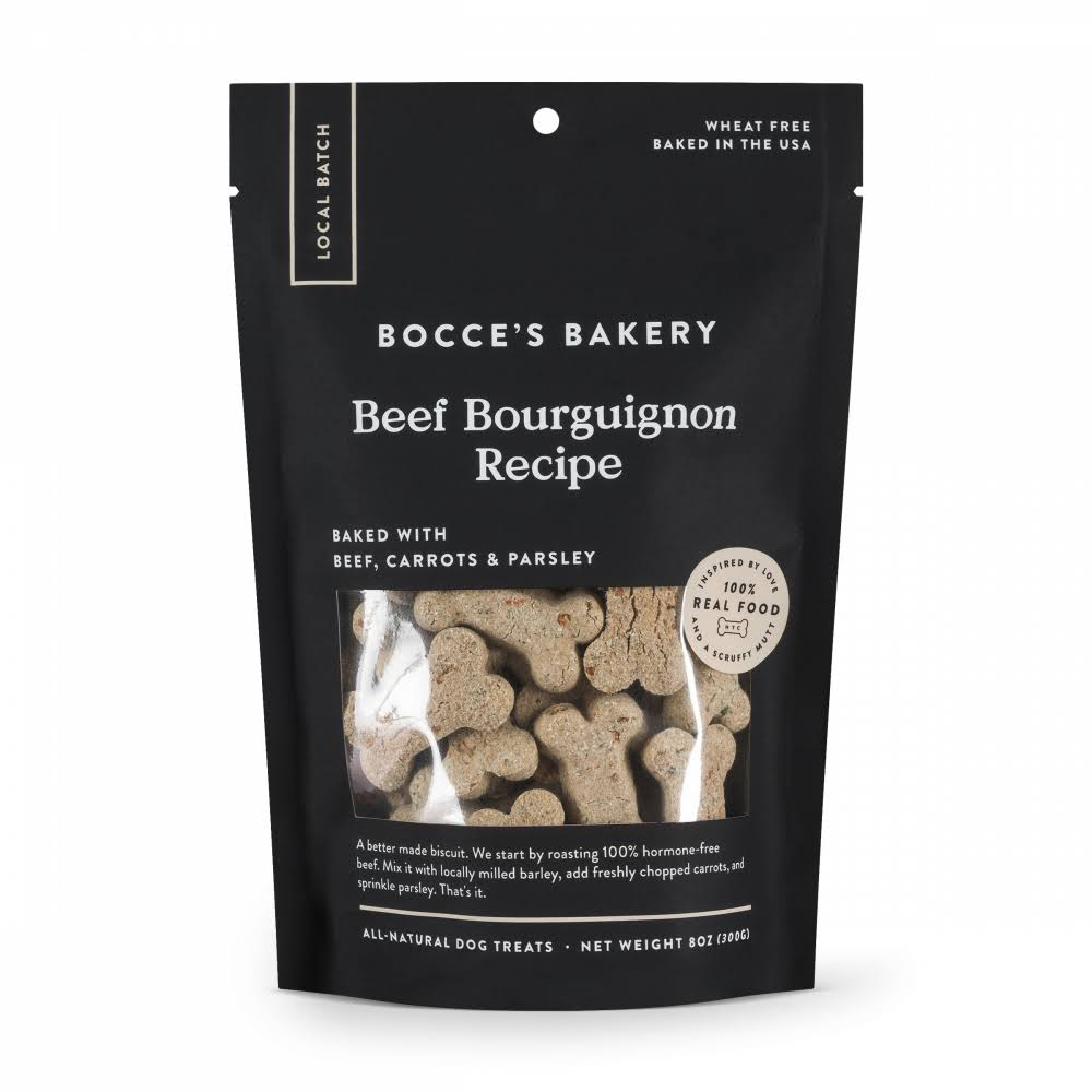 Bocce's Bakery Beef Bourguignon All Natural Dog Biscuits - 8 oz