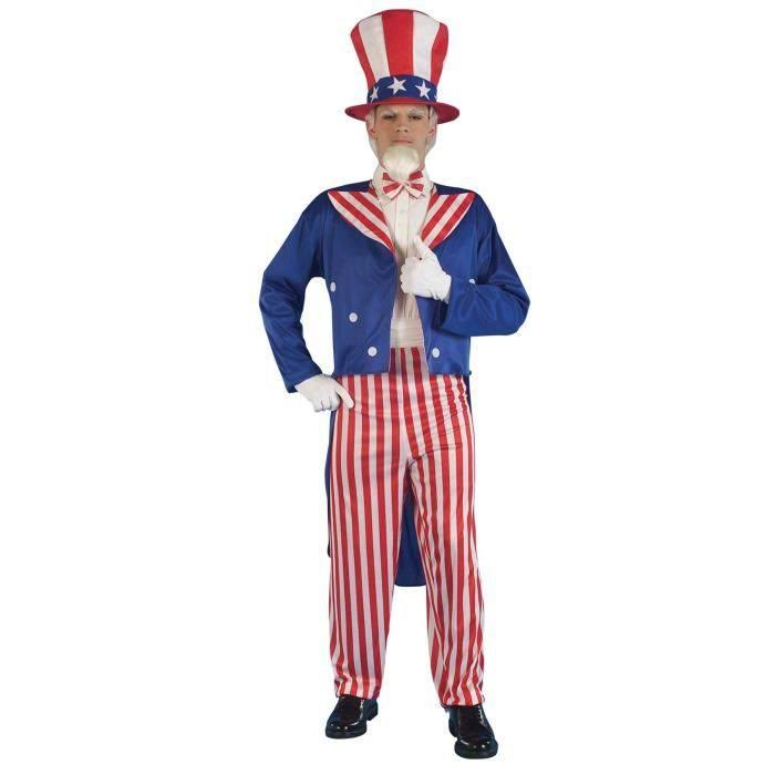 Fancy Dress Uncle Sam Costume