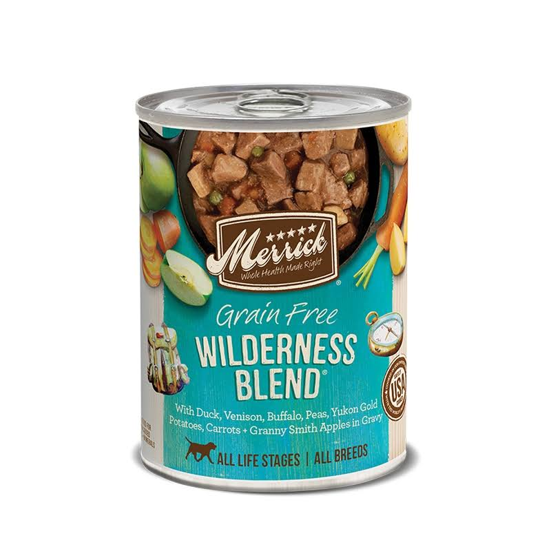Merrick Wilderness Blend 13.2oz Canned Dog Food