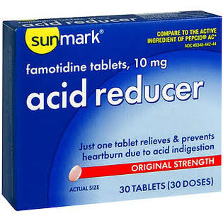Sunmark Acid Reducer Tablets - 10Mg, 30ct